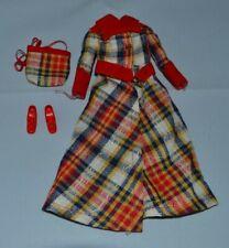 BARBIE Vintage * 72 * Mattel * Tenue MADRAS MOD * #3485 * Fashion Doll * Complet