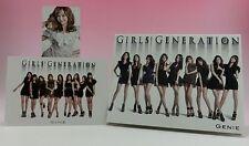 CD+DVD Girls Generation GENIE JAPAN Limited Photo card Jessica SNSD UPCH-89086