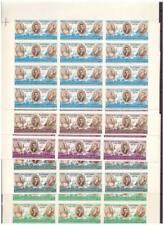 38285)JORDAN 1964 MNH** King Hussein Pope Paul VI & Patriarch Athenag 5v IMPERF.