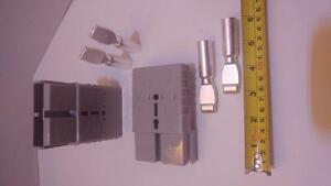 CONNECTORS/PLUGS/PINS, 2/0 AWG, ANDERSON Style, SB350A-600V, FORKLIFTS, 4X4