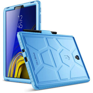 Samsung Galaxy Tab S4 10.5 inch (2018) Tablet Case,Poetic Silicone Cover Blue
