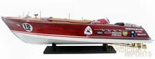 Super Riva Zoom Handmade Wooden Model Speedboat