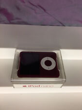 APPLE IPOD NANO 3RD GENERATION SPECIAL RED 8 GB FACTORY SEALED BRAND NEW