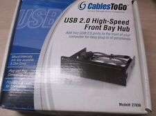Cables To Go USB 2.0 High-Speed Front Bay Hub 27036