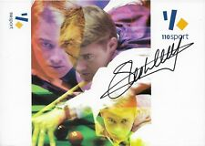 Stephen Hendry Snooker Signed/Autographed Printed Photo