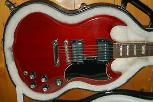 2009 GIBSON 61 SG VINTAGE CHERRY GUITAR WITH IMPROVEMENTS - OHSC HAPPY TO POST