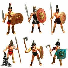 6 style Ancient Roman Warrior Plastic Model Soldier Model Kit Figure Statue