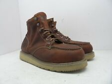 TIMBERLAND PRO Men's BARSTOW WEDGE Soft Toe WORK BOOTS 88559 Brown 12W
