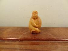 New ListingCamphor Wood Carving Little Monkey Statue