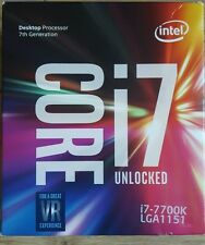 Intel Core I7-7700K (4.20 GHz Socket 1151 8MB Cache) Boxed Processor Sealed BNIB