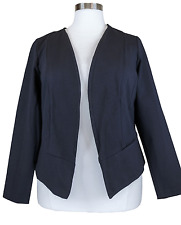 MAURICES WOMEN'S BLACK LONG SLEEVE JACKET BLAZER PLUS Sz 3 3X