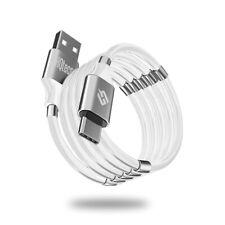 Cavo Magnetico micro USB Type C Ricarica Rapida 3A QC3.0 Avvolgimento Veloce