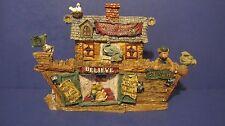 """1999 Boyds Bears & Friends Noah's Ark Series 1 """"S.S. Noah.The Ark"""" Style #2450"""