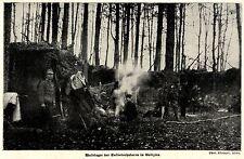 1915 * Waldlager der Salvatorhusaren in Galizien *  WW1