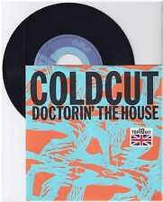 "Coldcut, DocTorin' The House, VG/VG  7"" Single 999-612"