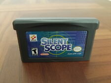 SILENT SCOPE Gameboy Advance game cart Authentic! Tested & Works GBA/SP/Micro