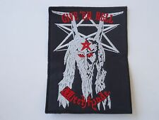 WITCHFYNDE GIVE'EM HELL EMBROIDERED PATCH