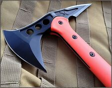 UNITED CUTLERY M48 TACTICAL AXE THROWING TOMAHAWK ORANGE HANDLE FIELD TESTED