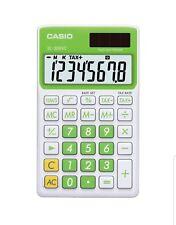 Casio Solar Wallet Calculator With 8-digit Display (green) CIOSLVCGNSIH