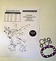 Seal Kit - Greenlee / Fairmont H6200 A/B and HCS Hydraulic Chain Saw Part #40789