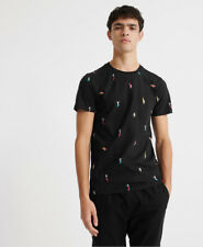 Superdry Mens Organic Cotton All Over Print T-Shirt