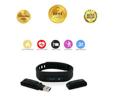 Fitness Activity Tracker Heart Rate Monitor Watch Wristband Fit Bit Pedometer