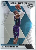 2019-20 Panini Prizm Mosaic Pj Washington Jr. Rookie Card RC NBA Debut Hornets🔥
