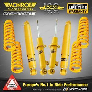 Monroe Shocks King Springs Lift Kit for Nissan Pathfinder R51 2.5ltr TDi 4WD Wgn