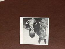 f1c ephemera 1949 picture monsiegene whewell bury horse and hound gold cup