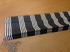 Clarke & Clarke Marlow F0422 Striped Roman Blind ,Made To Measure, All Colours