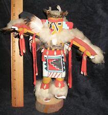 "Navajo Katchina doll ""Eagle Doll"" 10 inches x 11 inches Arizona By L. Joe"