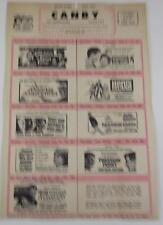 CANBY MINNESOTA THEATRE MAILER JULY 1963 JASON AND THE ARGONAUTS BABY JANE