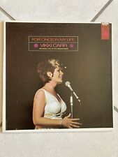 Vikki Carr For Once In My Life Vinyl LP NM/VG++ British Pressing Recorded Live