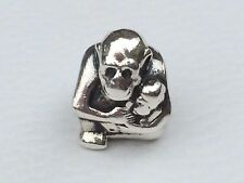 Authentic Genuine Pandora Monkey with Baby Charm 790422 - retired