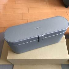 Dyson Supersonic Hair Dryer Storage Box Platinum Silver PU Leather Box Only New