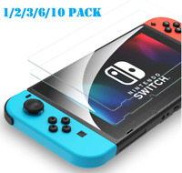 For Nintendo Switch Console HD Clear Premium Tempered Glass Screen Protector