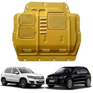 Gold Front Engine Splash Shield Under Cover Mudguard Fits VW Tiguan 2009-2017