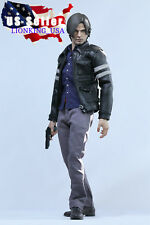 1/6 Leon Scott Kennedy Resident Evil Premium Figure Full Set ❶USA IN STOCK❶