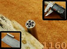 ALISTAR UK 6.36mm Thick 1x Mosaic Pin Handle Making Scales Bush Craft TOP!(1160