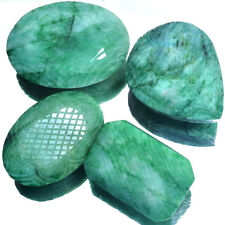 905 Cts Green Natural Emerald Finest Moghul Carving Work Loose Gemstone