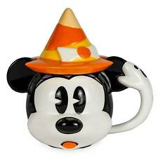Disney Parks Minnie Mouse Witch Hat Halloween Mug Lid