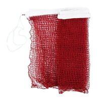 Professional Training Standard Braided Badminton Net 6.0m x 0.75m White Hem Z7M4
