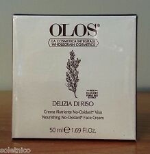 OLOS DELIZIA OF RISO CREAM NOURISHING NO-OXIDANT FACE from 50 ml.