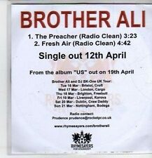 (CQ34) Brother Ali, The Preacher - 2010 DJ CD