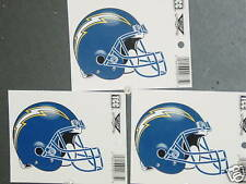 NFL Window Clings (3), San Diego Chargers, NEW