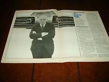 CHRYSLER TURBINE JET ENGINE CAR  ***ORIGINAL 1974 ARTICLE***
