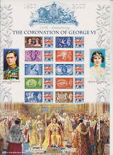 GB SMILER STAMP SHEET UMM MNH 2007 GEORGE VI CORONATION HISTORY OF BRITAIN 6