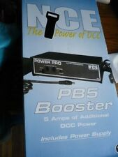 NCE PB5 Booster 5 amps with power supply PN 52400045