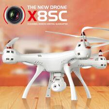 Syma X8SC 2.4G 4CH 6-Axis RC Quadcopter Big Drone HD Telecamera High Hover