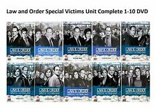 Law and Order Special Victims Unit Complete 1-10 DVD All Season UK Release R2